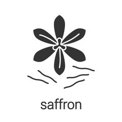 Saffron glyph icon