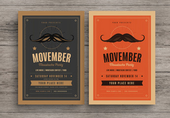 Movember Event Flyer 1
