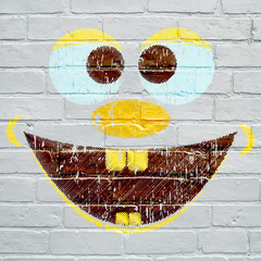 Graffiti, le sourire