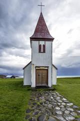 Wall Mural - Helnar Church Iceland