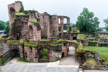 Fototapete - Roam Baths Trier Germany