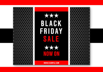 Black Friday Sale Social Media Post Layout 4
