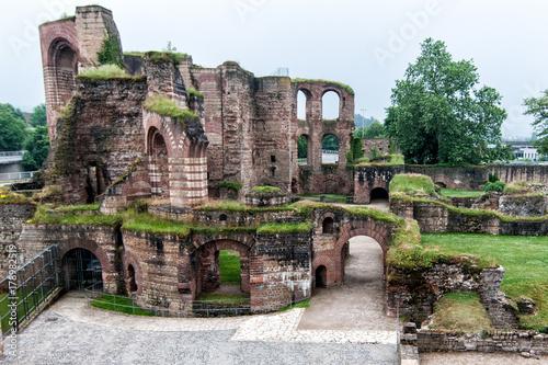 Fototapete Roam Baths Trier Germany