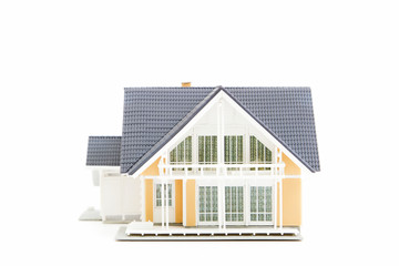 Miniature House Isolated on White