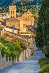 Wall Mural - Pollenca, old village on the island Palma Mallorca, Spain
