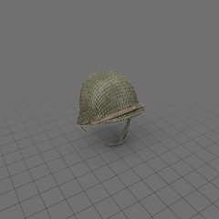 Military Helmet Without Strap