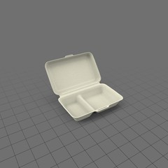 Insulated takeout container 2