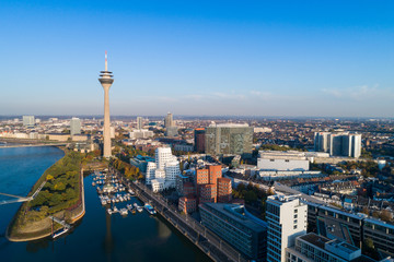 Düsseldorf from above
