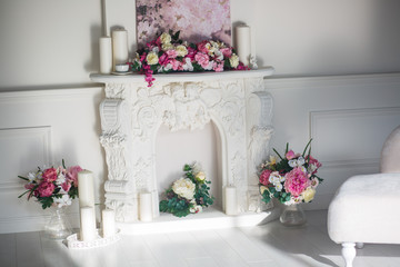 flower arch, flower decoration