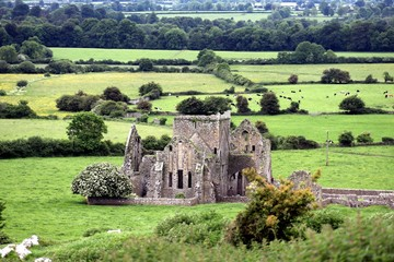 Ruins of an old Monastery in Ireland - Cashel