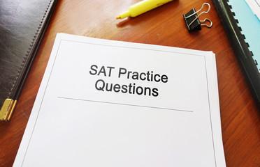 SAT Practice Questtions