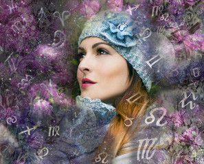 The woman in the world of astrology and zodiac signs