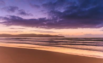 Dawn Seascape at the Beach