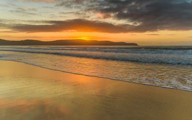 Sunrise Seascape at the Beach