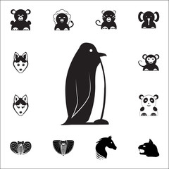 Emperor Penguin icon. Set of animal icons. You can use in web or app icons