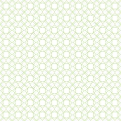 Seamless cross pattern in green color. For banknote, money design, currency, note, check or cheque, ticket, reward. Vector .