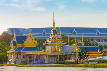 the Royal funeral pyre for King Bhumibol Adulyadej