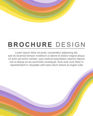 background style brochure template