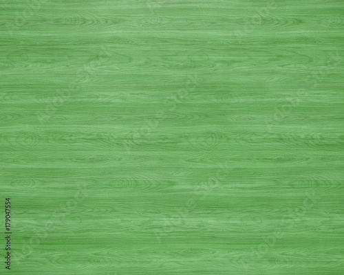 Green Colored Wood Texture Background