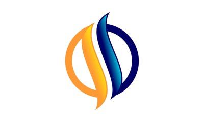 Letter S Flame Logo