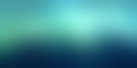 Deep blue green blurred background. Light matte empty background. Sea water abstract texture. Dark defocused texture.