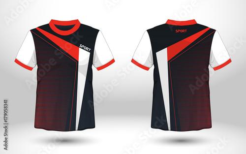 d11c2ff736c1d9 Layout football sport t-shirt design. Template front