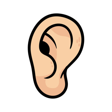 Cartoon Ear