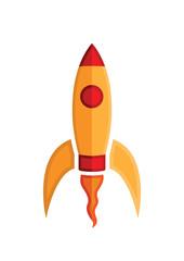 an_orange_rocket