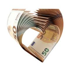 50-Euro-Herz