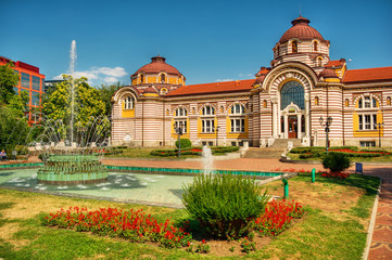 Central Mineral Baths, Sofia, Bulgaria