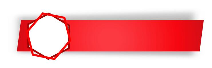 the blank rectangular label