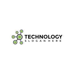 Technology Logo Template. Vector Illustrator EPS. 10