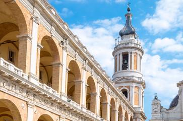 The basilica Santuary of Loreto