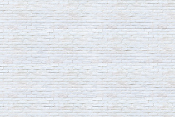 Old white brick wall background.