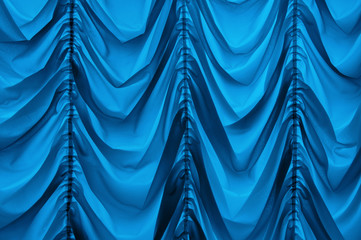 Curtain in French style