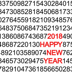 new year 2018 greetings