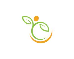 Tree leaf ecology nature element vector
