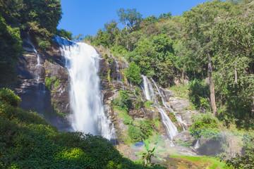Wachirathan waterfall in Chiangmai.
