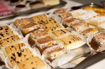 variety of sweet bakery