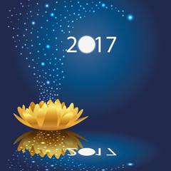 2018 - carte de vœux - vœux - magique - imaginaire - imagination - étoiles - féérique