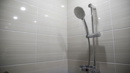 Wall Murals Stairs shower and shower holder.