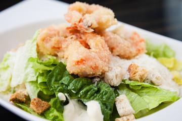Classical Caesar salad