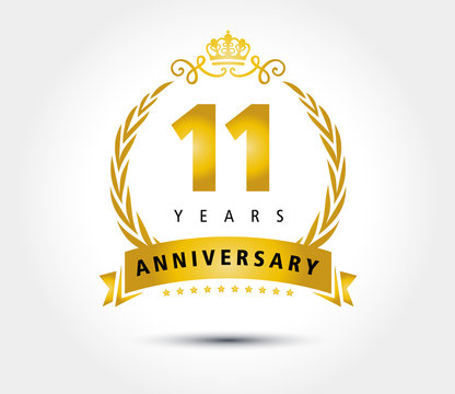 11 years anniversary royal