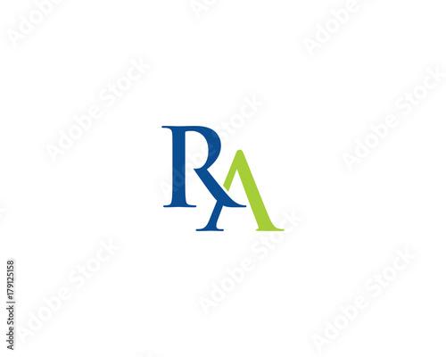 ra letter logo icon 2 fotolia com の ストック画像とロイヤリティ