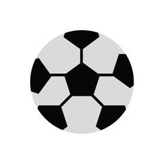 colorful  soccer ball  over white background  vector illustration