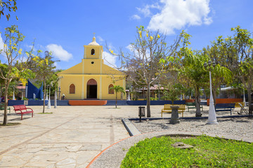Никарагуа. Церковь в Сан Хуан Дель Сур.