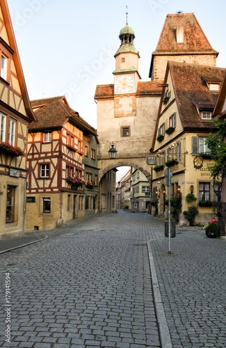 Wall mural Rothenburg ob der Tauber Germany