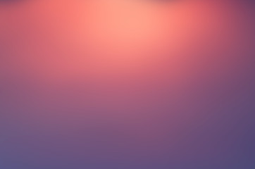 Wall Mural - blue pink blur Orange abstract background