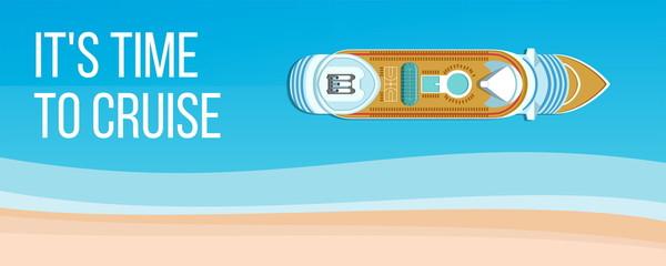 Sea cruise banner