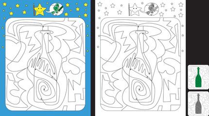Color by dot worksheet